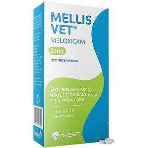 Anti-Inflamatorio Mellis Vet Cão 10 A 15kg 2mg