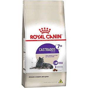 Ração Royal Canin Gato Adulto Castrado +7 (Sterilised) 4Kg