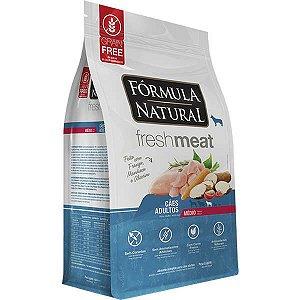 Ração Fórmula Natural Fresh Meat Cão Adulto Raça Média 1Kg