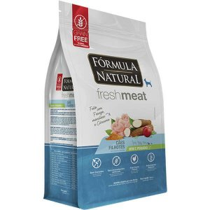 Ração Fórmula Natural Fresh Meat Cão Filhote Raça Mini e Pequena 7Kg