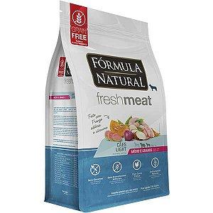 Ração Fórmula Natural Fresh Meat Cão Adulto Light Raça Média e Grande 12Kg