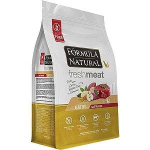 Ração Fórmula Natural Fresh Meat Gato Adulto Castrado Carne 1Kg