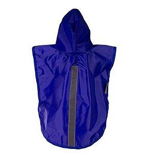 Capa De Chuva Malloo Azul EXGG