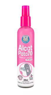 Álcool Spray Alcat Pata 70