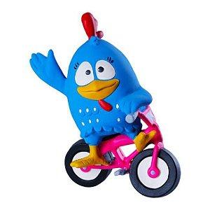 Brinquedo Mordedor La Toy Galinha Pintadinha Bike