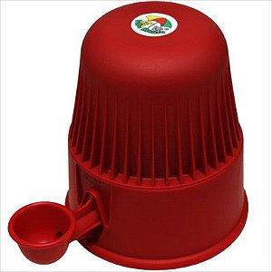 Bebedouro Vida Mansa Raças Pequenas Polipropileno 2L Vermelho