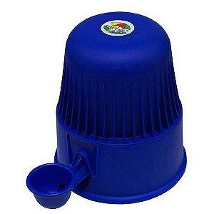 Bebedouro Vida Mansa Raças Pequenas Polipropileno 2L Azul Escuro