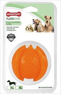 Brinquedo Odontopet Flexibone Porta Petisco Para Cão Até 7kg