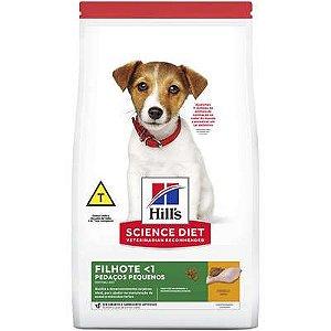 Ração Hill's Science Diet Cão Filhote Pedaços Pequenos 2,4Kg