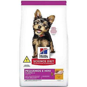 Ração Hill's Science Diet Cão Filhote Raça Pequena E Miniatura 2,4Kg