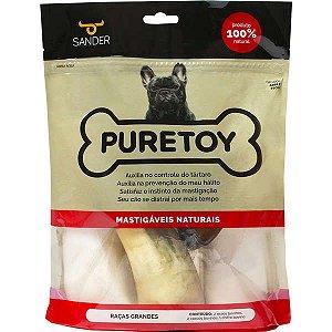 Kit Pure Toy Raças Grandes - 2 ossos + 2 cascos + 1 chifre
