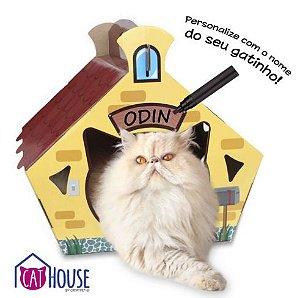 Cat House Cat My Pet Casinha Para Gatos