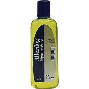 Shampoo Cão e Gato Allerdog Hipoalergênico 230ml