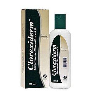 Shampoo Antibacteriano Clorexiderm 4% 230ml
