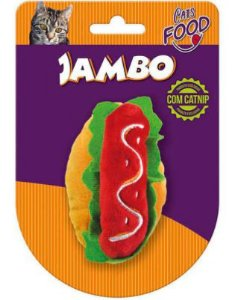 Brinquedo Jambo Food Gato Hot Dog