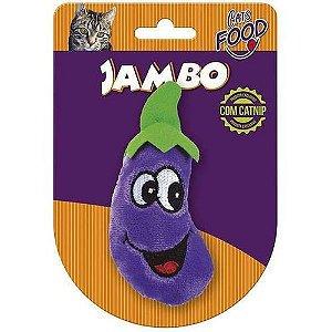 Brinquedo Jambo Food Gato Bringela