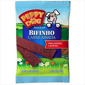 Bifinho Peppy Dog Carne Assada 65g