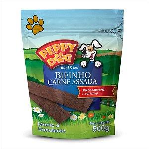 Bifinho Peppy Dog Carne Assada 500g