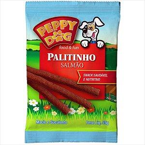 Palitinho Peppy Dog Salmão 55g