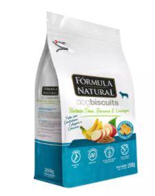 Biscoito Formula Natural Fresh Meat Cão Adulto Raça Média e Grande Batata Doce 250g