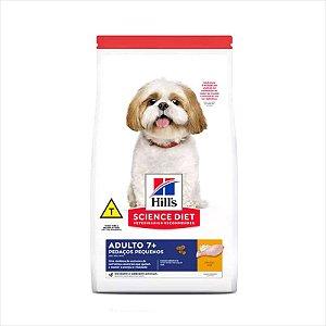 Hill's Cão Adulto +7 Pedaços Pequenos 2,4Kg