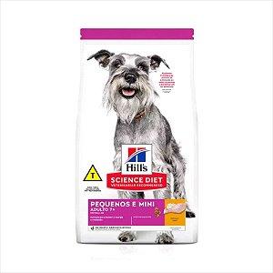 Ração Hill's Cão Adulto +7 Raça Pequena e Mini Longevidade Ativa 800g