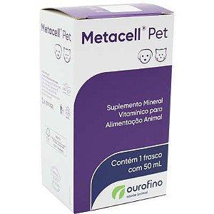 Suplemento Metacell Pet 50ml