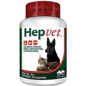 Suplemento Hepvet 30 Comprimidos