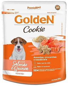 Cookie Golden Cão Filhote Salmão e Quinoa 350g