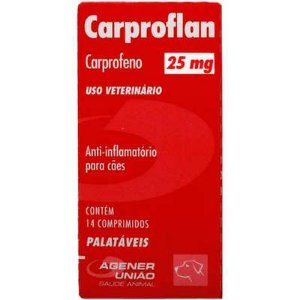 Anti-inflamatório Carproflan 25mg
