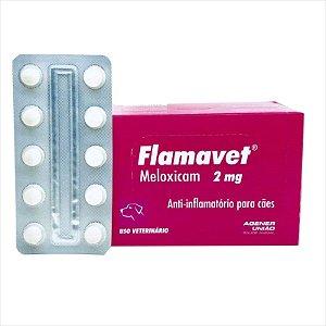 Anti-Inflamatório Flamavet 2mg Blister Com 10 Comprimidos