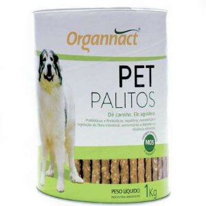 Organnact Palitos Pet Lata 1kg