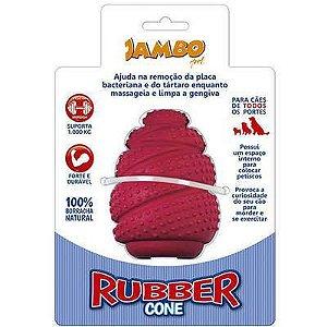 Brinquedo Jambo Rubber Cone Vermelho G