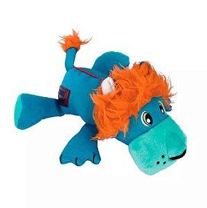 Brinquedo Pelúcia Kong Cozie Ultra Lucky Lion MD