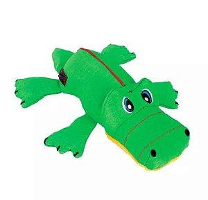 Brinquedo Pelúcia Kong Cozie Ultra Ana Alligator MD