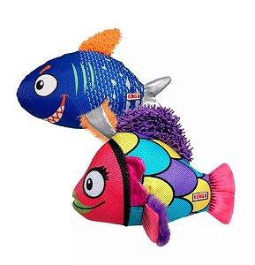 Brinquedo Pelúcia Kong Reefz Assorted Large