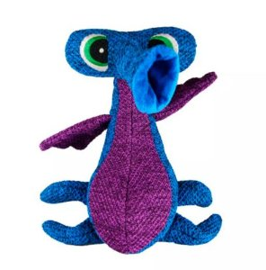 Brinquedo Pelúcia Kong Woozles Blue Medium