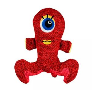 Brinquedo Pelúcia Kong Woozles Red Medium