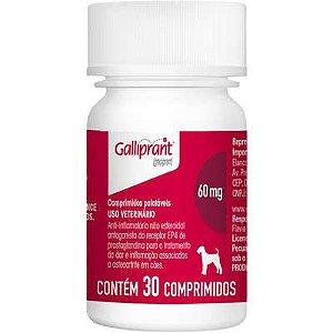 Anti-Inflamatorio Galliprant 60mg Caixa Com 30 Comprimidos