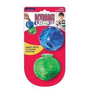 Brinquedo Interativo Kong Lock-it 2-PK Large