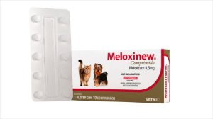 Anti-Inflamatório Meloxinew 0,5mg Blister 10 Comprimidos