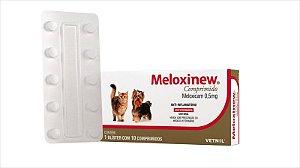 Anti-Inflamatório Meloxinew 0,5mg Blister 10 Comprimidos