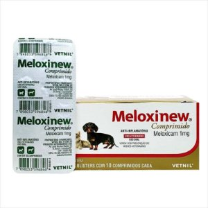 Anti-Inflamatório Meloxinew 1mg Blister 10 Comprimidos