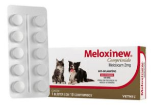 Anti-Inflamatório Meloxinew 2mg Blister 10 Comprimidos