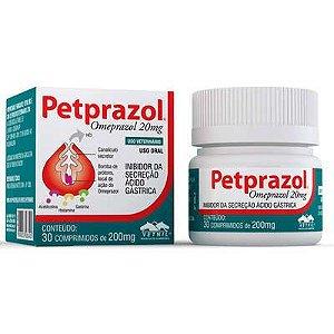 Inibidor de Secreção Ácido-Gástrica Petprazol 20mg