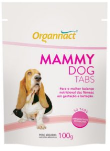 Organnact Mammy Dog Tabs 100g