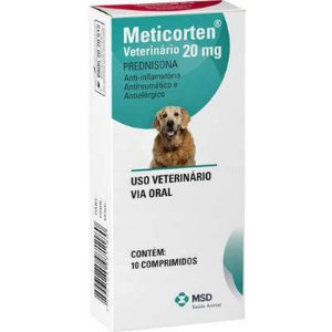 Anti-inflamatório Meticorten Vet 20mg