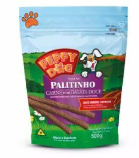Bifinho Peppy Dog Carne com Batata Doce 500g