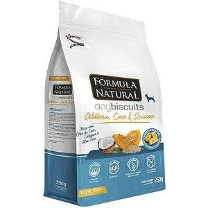 Biscoito Fórmula Natural Fresh Meat Cão Adulto Raça Pequena Abóbora 250g