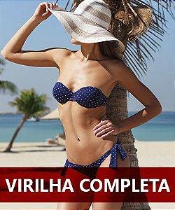Depilação a laser Virilha Completa ou Cavada feminino